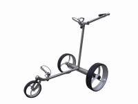Design Golf Trolley «Silver Straight»