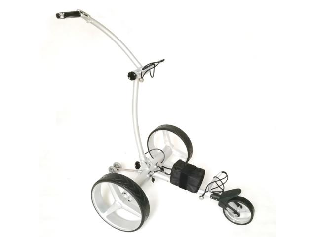 Design Golf Trolley «Silver Metallic Remote»