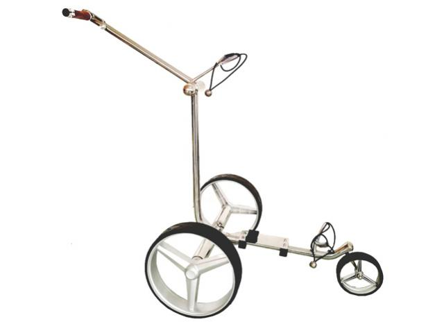 Design Golf Trolley «Silver Straight»